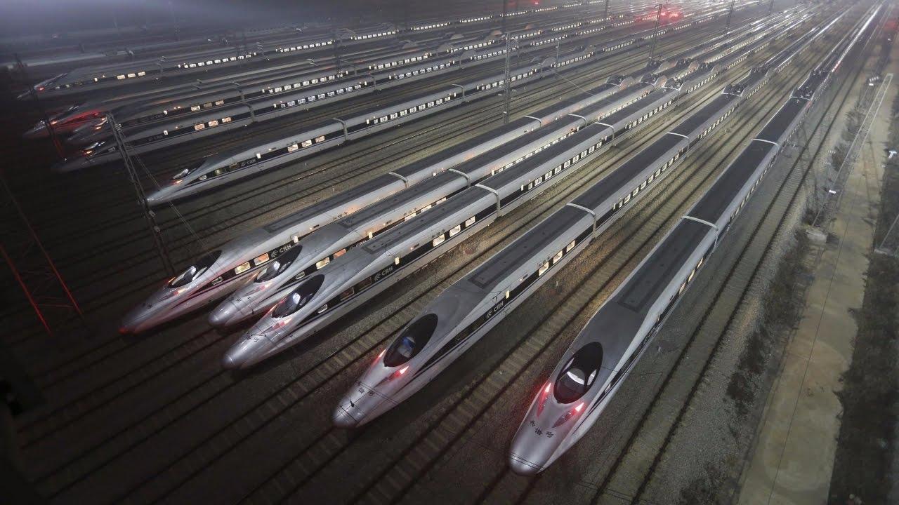 26.06.2017 Китай построит высокоскоростную железную дорогу в России