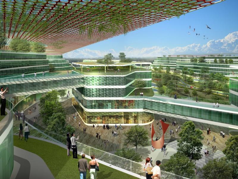 19.05.2017 Британцы проектируют биопарк в экогороде Тяньцзиня (Китай)