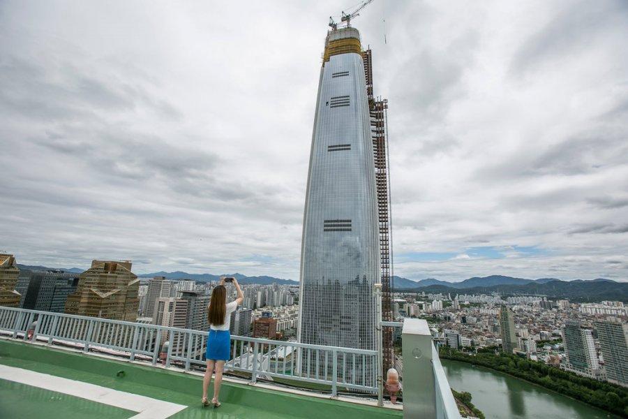 11.04.2017 Новая башня в Сеуле заняла пятое место среди небоскрёбов