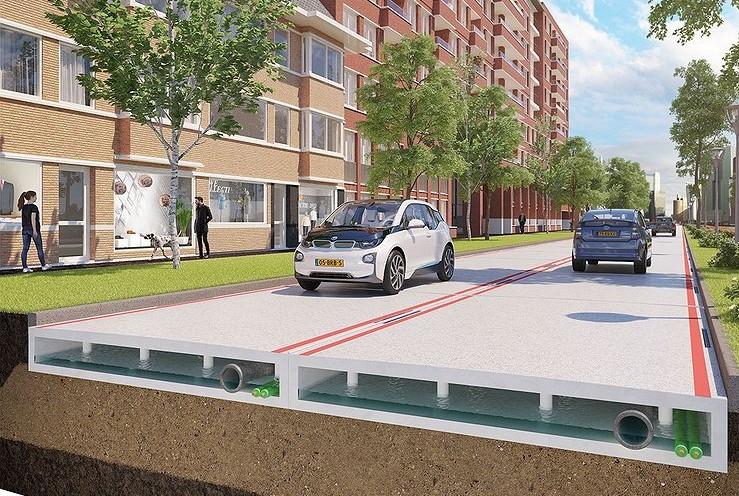 19.07.2017 Голландские инженеры разработали инновационный проект возведения дорог