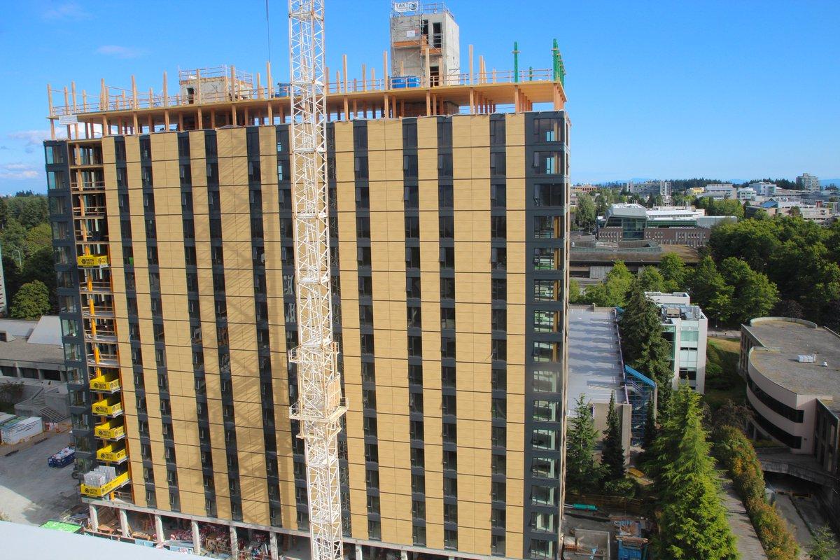 07.11.2016 Канада построит 18-этажное общежитие из дерева