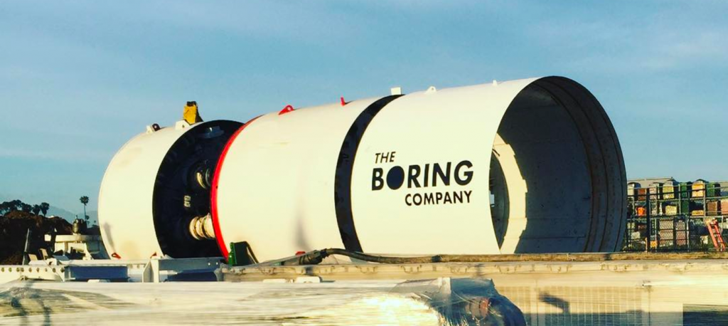 20.08.2018 Илон Маск анонсировал создание тоннеля под Лос-Анджелесом для сверхскоростного транспорта