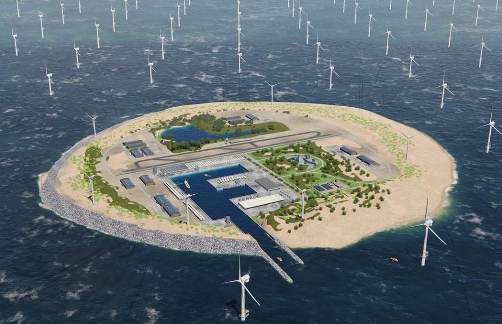 09.01.2018 Голландские инженеры построят крупнейшую в мире ветряную электростанцию посреди Северного моря
