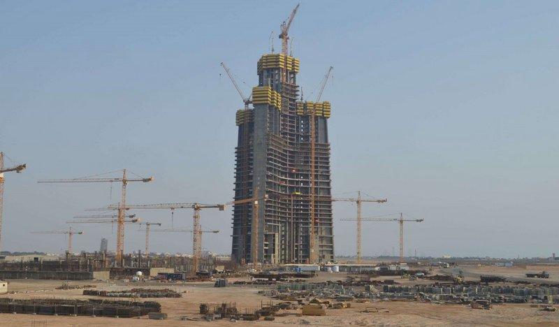 01.08.2018 Самое высокое здание мире появится в Саудовской Аравии уже к 2020 году