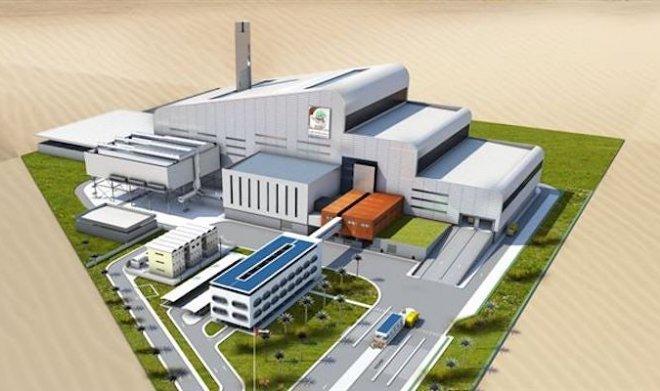 01.02.2018 В Дубае строится крупнейший в мире  мусороперерабатывающий завод