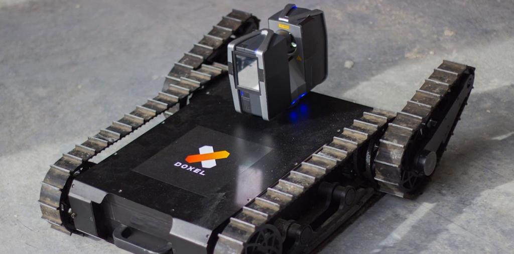 20.02.2018 Робот, вооруженный лазерным сканером, способен контролировать скорость и качество выполнения строительных работ