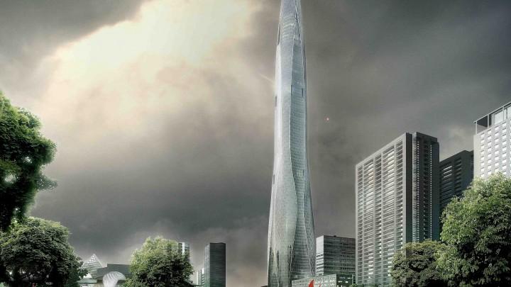 27.06.2018 Компания SOM к 2021 году построит самую необычную высотку Китая